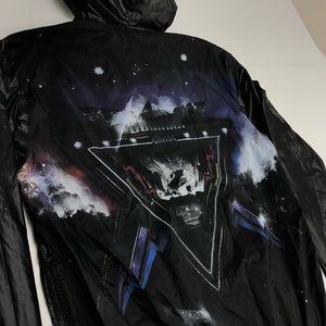 Authentic Balmain windbreaker jacket rare size m